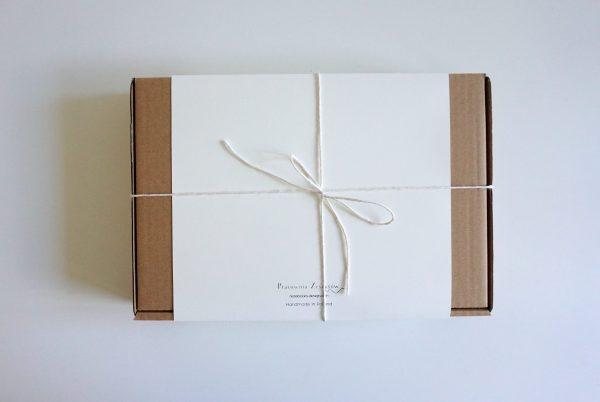 Zestaw prezentowy ZŁOTO-BRĄZOWY