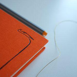 NOTES A5 W LINIĘ (surykatka pomarańczowa II)