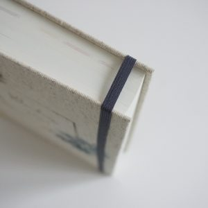 Zamknięcie na gumkę (niebieskie)