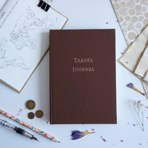 Travel Journal A5 (brązowy)