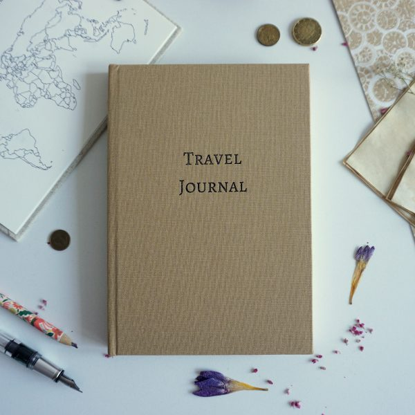 Travel Journal A5 (złoty)