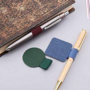 Pen loop na długopis (brązowy)